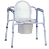 Sedia comoda 4 Funzioni - Rialzo stabilizzante per WC