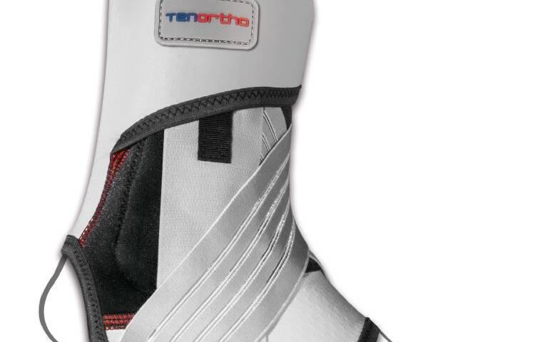 Cavigliera elastica in fibra di carbonio con stabilizzazione latero/mediale GAMMA TONIC® – TO4112