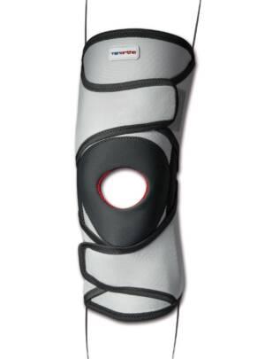 Ginocchiera tubolare con stecche a spirale e stabilizzatore rotuleo GENUTONIC® - TO3115