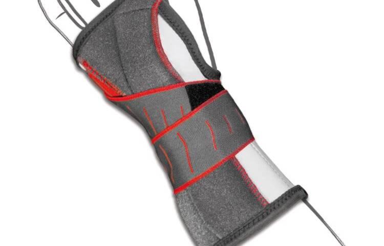 Polsiera steccata ambidestra in fibra di carbonio
