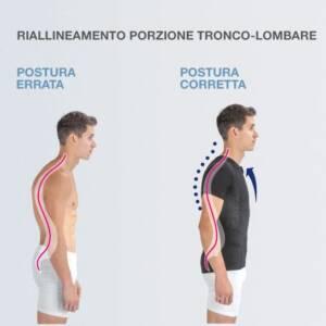 Maglia Posturale Posture YOUNG - Ragazzo - Ragazza