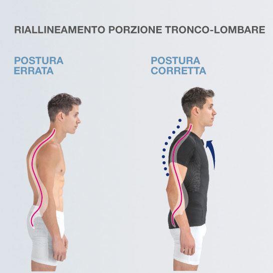 Maglia Posturale Posture YOUNG – Ragazzo – Ragazza