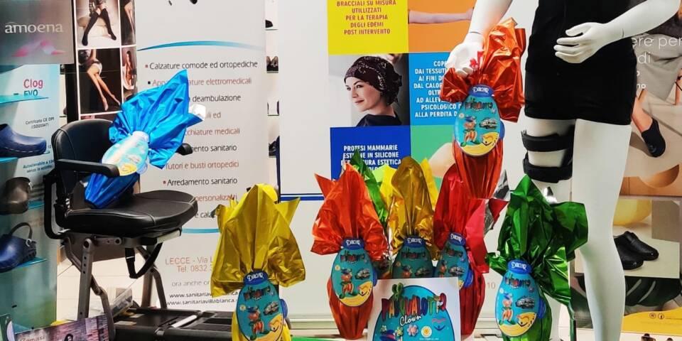 Pasqualotti Clown per sostenere il progetto Bimbulanza